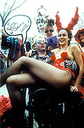 Sex Maniacs demonstrating for sexual freedom, London 1980's