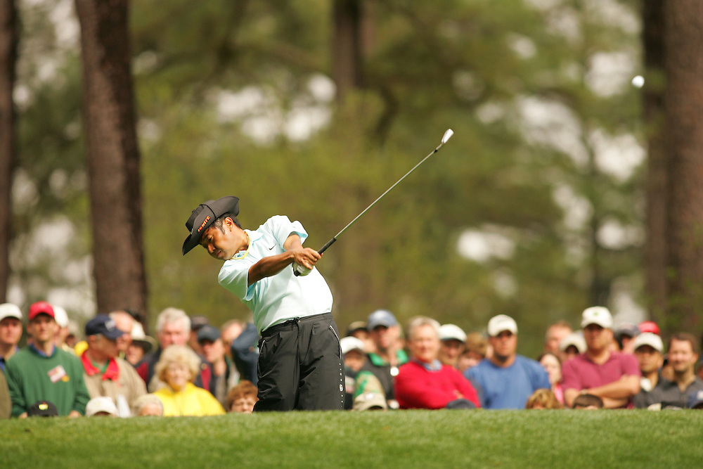 Shingo Katayama..2005 Masters Tournament.First Round.Augusta National GC.Augusta GA.Thursday, April 7 2005..photograph by Darren Carroll..04-07-05...