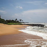 The coastal road, on the way to Galle, in the deep south of the country