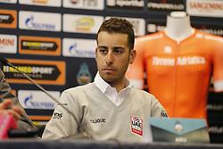 March 6, 2018 - Lido Di Camaiore, ITALY - Italian Fabio Aru of UAE Team Emirates pictured during a press conference ahead of the Tirreno-Adriatico cycling race (7-14 March) in Lido di Camaiore, Italy, Tuesday 06 March 2018...BELGA PHOTO YUZURU SUNADA (Credit Image: © Yuzuru Sunada/Belga via ZUMA Press)