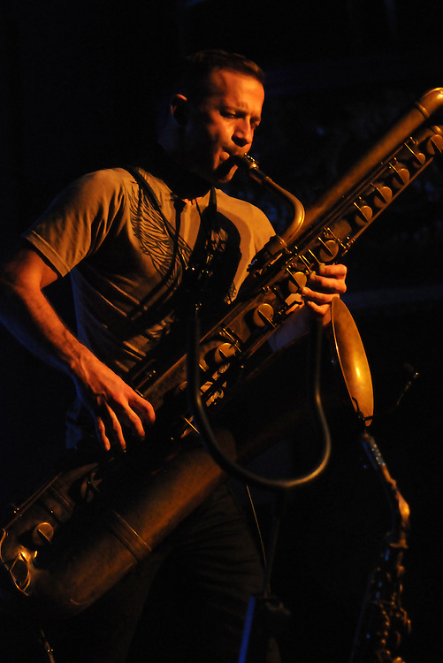 Saxophonist and Polaris prize finalist Colin Stetson plays an exciting set at The Rialto during POP Montreal 2013. (Cult MTL)