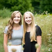 Maddie & Britt senior pictures