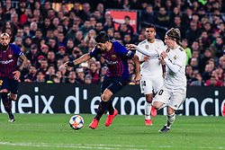 February 6, 2019 - Barcelona, BARCELONA, Spain - 09 Luis Suarez of FC Barcelona during the semi-final first leg of Spanish King Cup / Copa del Rey football match between FC Barcelona and Real Madrid on 04 of February of 2019 at Camp Nou stadium in Barcelona, Spain (Credit Image: © AFP7 via ZUMA Wire)