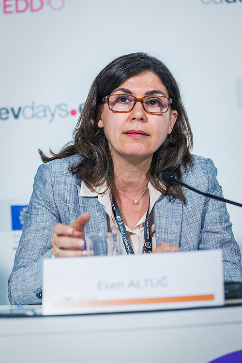 20160615 - Brussels , Belgium - 2016 June 15th - European Development Days - Tapping into the economic potential of refugees - A win-win for all ? Esen Altug , MFA - Turkey © European Union