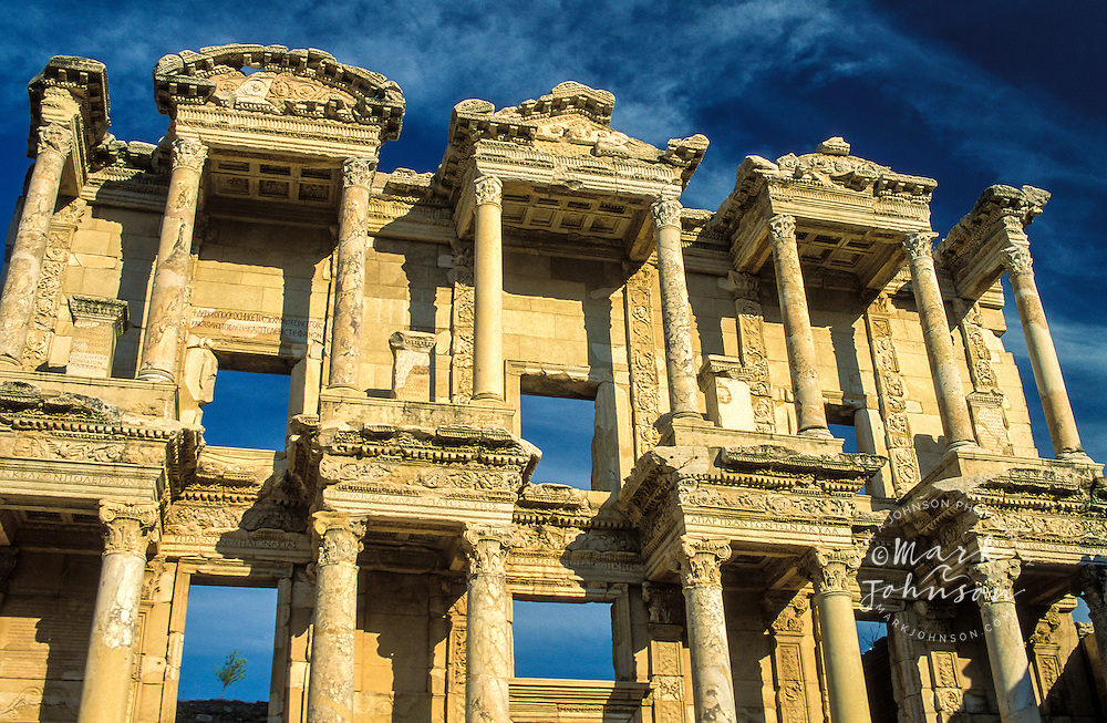 Turkey, Ephesus (ancient Greek ruins), Library of Celsus.