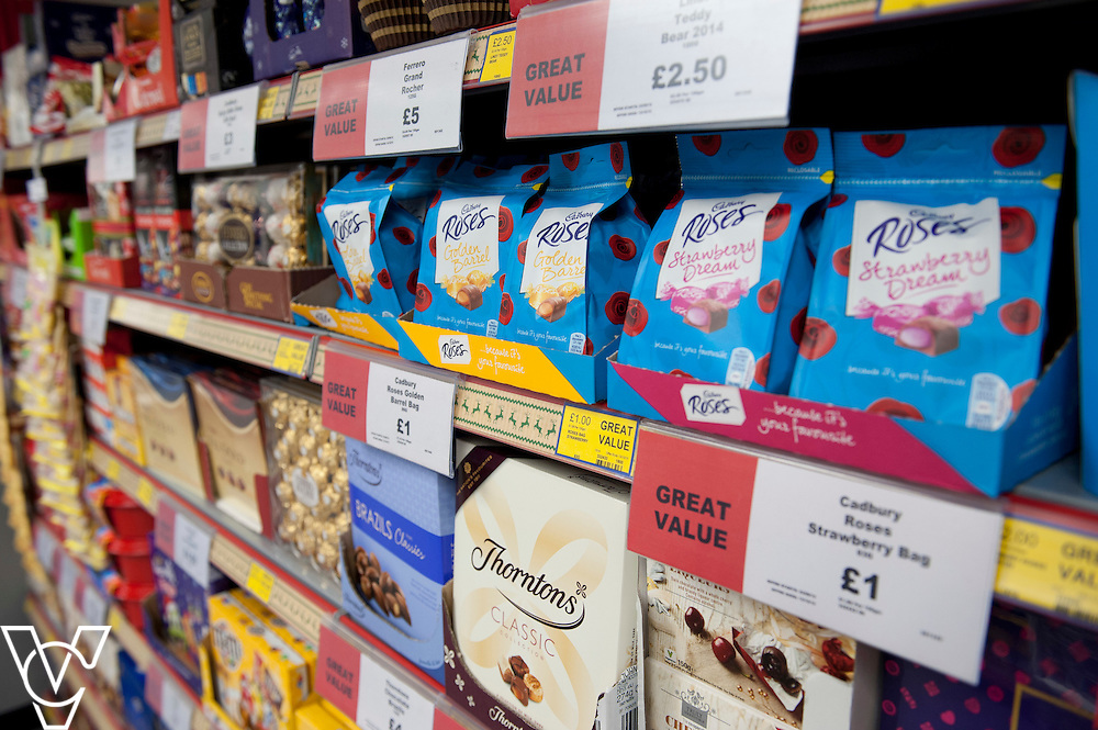 General view of the Christmas seasonal aisle inside of the newly refurbished Lincolnshire Co-operative Food Store in Washingborough<br /> <br /> Official re-opening of the refurbished Washingborough Food Store and precinct, which includes the Co-op Pharmacy.<br /> <br /> Date: October 30, 2015<br /> Picture: Chris Vaughan/Chris Vaughan Photography