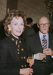 MR & MRS GILES SHEPARD former Managing Director of the Savoy,  at an exhibition in London on April 24th 1997.LXY 63