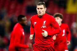 James Milner of Liverpool - Mandatory by-line: Robbie Stephenson/JMP - 30/10/2019 - FOOTBALL - Anfield - Liverpool, England - Liverpool v Arsenal - Carabao Cup