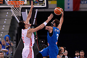 DESCRIZIONE: Torino Turin 2016 FIBA Olympic Qualifying Tournament Finale Final Italia Croazia Italy Croatia<br /> GIOCATORE : Marco Belinelli<br /> CATEGORIA : controcampo schiacciata sequenza fallo<br /> SQUADRA : Italia Italy<br /> EVENTO : 2016 FIBA Olympic Qualifying Tournament <br /> GARA : 2016 FIBA Olympic Qualifying Tournament Finale Final Italia Croazia Italy Croatia<br /> DATA : 09/07/2016<br /> SPORT: Pallacanestro<br /> AUTORE : Agenzia Ciamillo-Castoria/Max.Ceretti <br /> Galleria : 2016 FIBA Olympic Qualifying Tournament <br /> Fotonotizia : Torino Turin 2016 FIBA Olympic Qualifying Tournament Finale Final Italia Croazia Italy Croatia<br /> Predefinita :