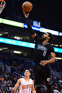 Jan 30, 2017; Phoenix, AZ, USA; Memphis Grizzlies guard Mike Conley (11) drives to the basket against the Phoenix Suns in the first half of the NBA game at Talking Stick Resort Arena. Mandatory Credit: Jennifer Stewart-USA TODAY Sports