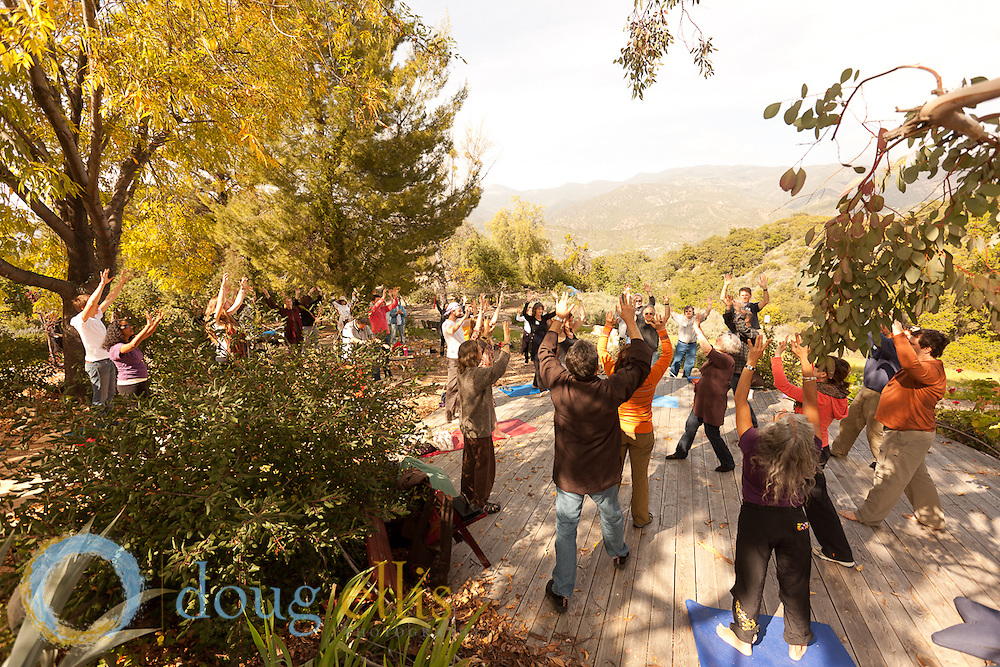 Deer Park Monks visit Ojai Foundation