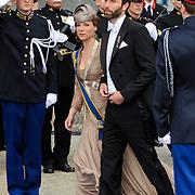 NLD/Amsterdam/20130430 - Inhuldiging Koning Willem - Alexander, princess Christina and son Bernardo