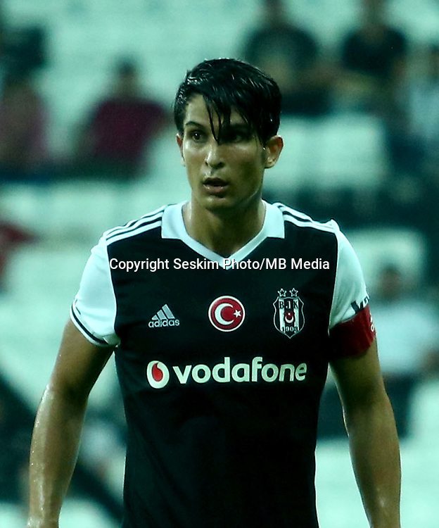 Friendly Football match between Besiktas ( TUR ) and Olympiakos (GRE ) at Vodafone Arena in Istanbul , Turkey , August 07 , 2016.<br /> Final Score : Besiktas 1 - Olympiakos 0<br /> Pictured: Necip Uysal of Besiktas.