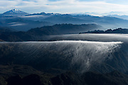 Cayambe Volcano<br /> Andes, Pichincha<br /> ECUADOR, South America<br /> 5,790meters above sea level<br /> 19,000 feet<br /> Cayambe in the Cordillera Central, a range of the Ecuadorian Andes. It is located 70 km northeast of Quito. It is the third highest mountain in Ecuador.<br /> Last eruption 1785/6<br /> <br /> Cayambe, which has a permanent snow cap, is a Holocene compound volcano which last erupted in March 1786. At 4,690 m (15,387 ft) on its south slope is the highest point in the world crossed by the Equator and the only point on the Equator with snow cover. The volcano and most of its slopes are within the Cayambe Coca Ecological Reserve.<br /> <br /> Cayambe was first climbed by British adventurer Edward Whymper in 1880.