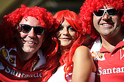 September 3-5, 2015 - Italian Grand Prix at Monza: Ferrari fans