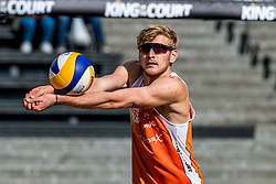 07-09-2018 NED: King of the Court, Utrecht<br /> 5 teams play in 3 rounds for the title 'King of the Court / Jasper Bouter #2 NED