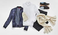 Clothing in the Holiday 2015 ED by Ellen fashion line by Ellen Degeneres.