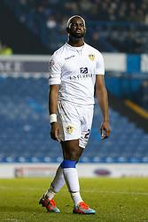 Souleymane Doukara of Leeds United looks dejected after a near miss on goal - Photo mandatory by-line: Rogan Thomson/JMP - 07966 386802 - 04/11/2014 - SPORT - FOOTBALL - Leeds, England - Elland Road Stadium - Leeds United v Charlton Athletic - Sky Bet Championship.