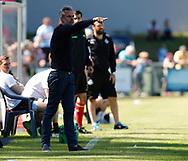FODBOLD: Cheftræner Michael Hemmingsen (Næstved BK) på sidelinien under kampen i NordicBet Ligaen mellem FC Helsingør og Næstved Boldklub den 27. maj 2017 på Helsingør Stadion. Foto: Claus Birch