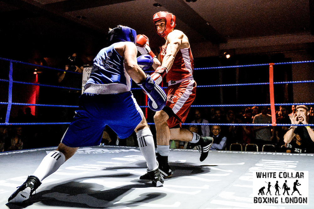 White Collar Boxing London presents the Road to Glory at the London Irish Centre, Camden Square, London on Friday 18, March 2016 Picture by Dan Law/danlawphotography.com