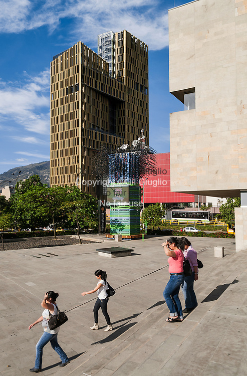 Colombie, Antioquia, Medellin,centre ville, cité administrative La Alpujarrza // Colombia, Antioquia , Medellin, downrtown, La Alpujarra adminstratif center