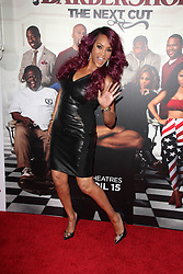 """Vivica A. Fox, at the """"Barbershop The Next Cut"""" Premiere, TCL Chinese Theater, Hollywood, CA 04-06-16. EXPA Pictures © 2016, PhotoCredit: EXPA/ Photoshot/ Martin Sloan<br /> <br /> *****ATTENTION - for AUT, SLO, CRO, SRB, BIH, MAZ, SUI only*****"""