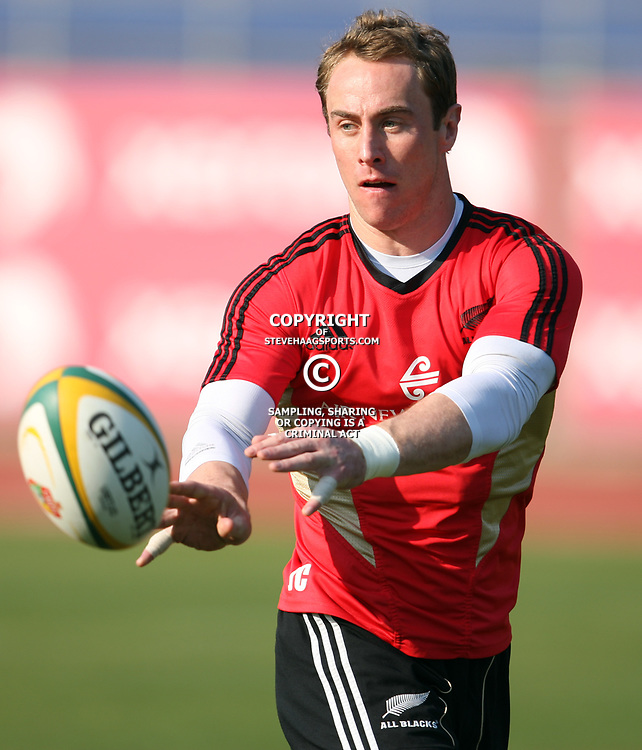 PORT ELIZABETH, SOUTH AFRICA - AUGUST 18, Jimmy Cowan during the New Zealand national rugby team training session at Xerox Arena on August 18, 2011 in Port Elizabeth, South Africa<br /> Photo by Steve Haag / Gallo Images