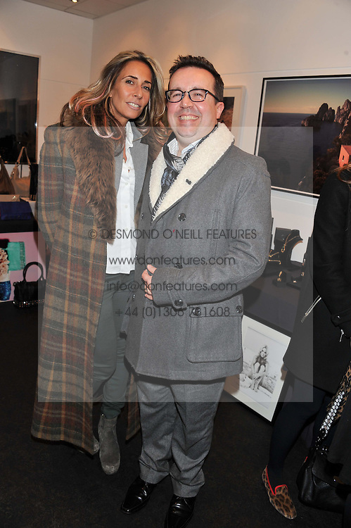 TARA BERNERD and LUCIEN SMITH at the Delicious Glamourous Girls Christmas Bazaar held at The Little Black Gallery & 11 Park Walk, Park Walk, London on 27th November 2012.