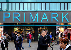 Primark store at Alexanderplatz in Berlin Germany
