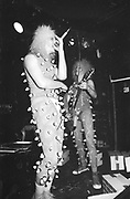 OO zeros playing live, Marquee club, UK, 1980s