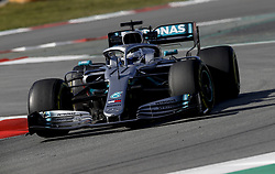 February 18, 2019 - Barcelona, Spain - Motorsports: FIA Formula One World Championship 2019, Test in Barcelona, , #77 Valtteri Bottas (FIN, Mercedes AMG Petronas) (Credit Image: © Hoch Zwei via ZUMA Wire)