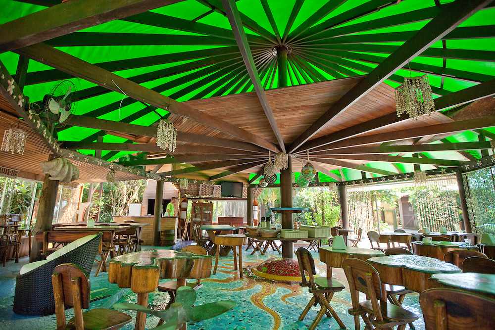 Ad Campaign: Restaurant at Grajagan Resort, Ilha do Mel, Brazil