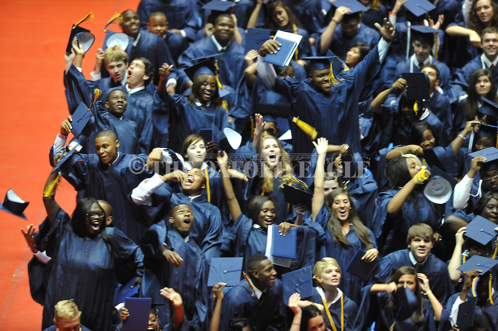 "Oxford High's graduation ceremony at the C.M. ""Tad"" Smith Coliseum at the University of Mississippi on Saturday, May 21, 2011."