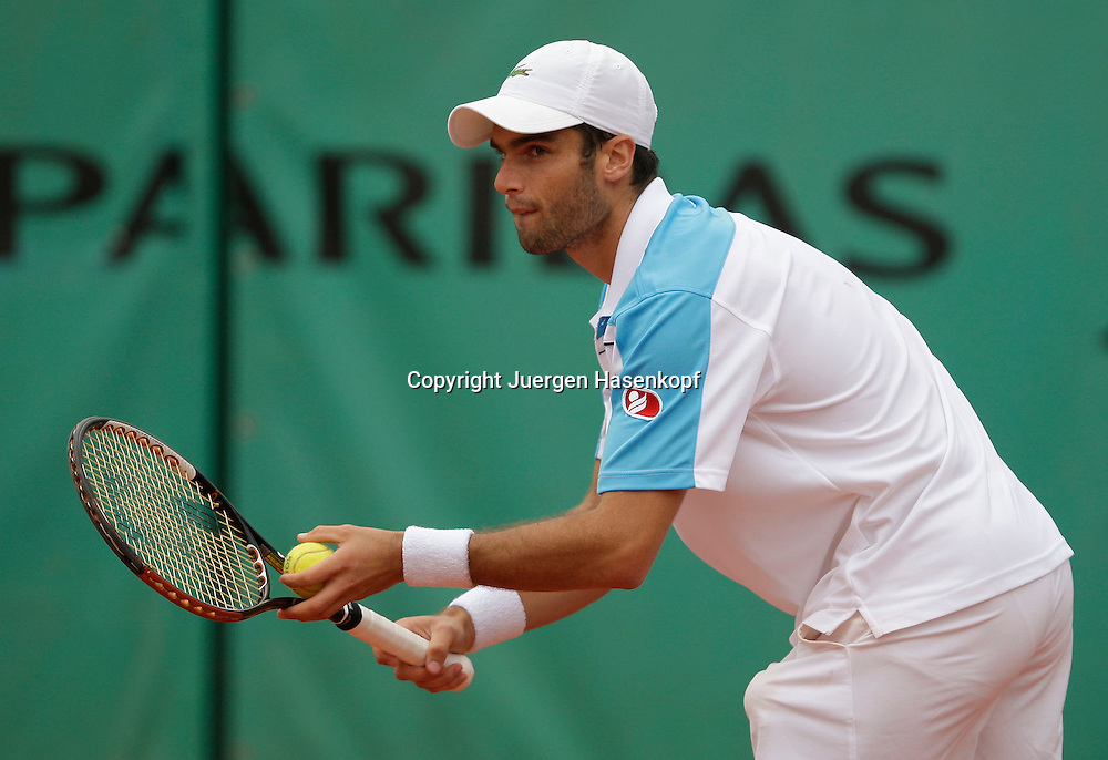French Open 2009, Roland Garros, Paris, Frankreich,Sport, Tennis, ITF Grand Slam Tournament, <br /> <br /> Pablo Andujar (ESP) <br /> <br /> <br /> <br /> Foto: Juergen Hasenkopf