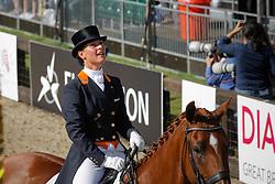 Cornelissen Adelinde (NED) - Parzival <br /> European Championship Dressage Windsor 2009<br /> © Hippo Foto - Dirk Caremans
