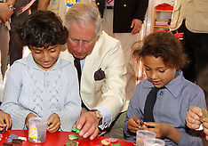 MAR 13 2013  Prince Charles plays with Syrian refugee kids