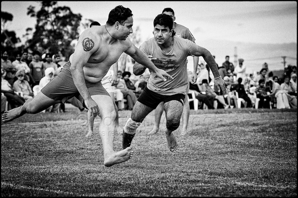 A Sikh Kabaddi tournament at the Gurudwara Sahib in Takanini, Auckland.
