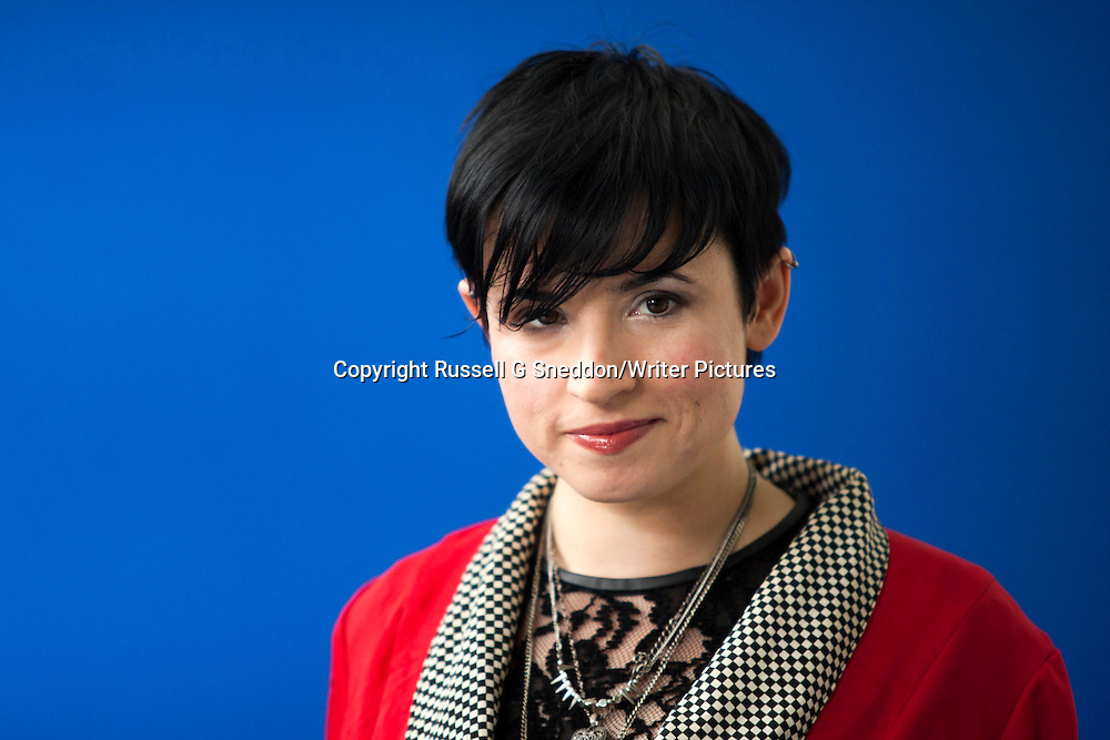 Laurie Penny at the Edinburgh International Book Festival 2013. 20th August 2013<br /> <br /> Picture by Russell G Sneddon/Writer Pictures