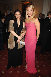 Left to right, ALIYA MAMEDOVA and ANNA BRAENNBERG at the 2008 Berkeley Dress Show at the Royal Hospital Chelsea, London on 3rd April 2008.<br /><br />NON EXCLUSIVE - WORLD RIGHTS