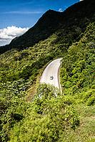 Estrada Dona Francisca (rodovia SC 301). Campo Alegre, Santa Catarina, Brasil. / <br /> Dona Francisca Road (Road SC 301). Campo Alegre, Santa Catarina, Brazil.