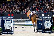 Harrie Smolders - Zinius<br /> FEI Longines FEI World Cup Paris 2018<br /> © DigiShots