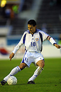 05.09.2001, Olympic Stadium, Helsinki, Finland. FIFA World Cup Qualifying match, Finland v Greece. Jari Litmanen (FIN)..©JUHA TAMMINEN