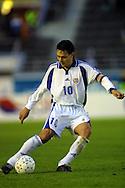 05.09.2001, Olympic Stadium, Helsinki, Finland. FIFA World Cup Qualifying match, Finland v Greece. Jari Litmanen (FIN)..©JUHA TAMMINEN