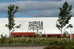 Marks & Spencer Lifestore soon to close after much heralded opening earlier in 2004; Metro Centre Gateshead Tyneside UK
