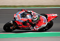 May 23, 2018 - Barcelona, Spain - Jorge Lorenzo (Ducati) during the Moto GP test in the Barcelona Catalunya Circuit, on 23th May 2018 in Barcelona, Spain. (Credit Image: © Joan Valls/NurPhoto via ZUMA Press)