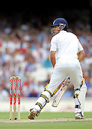© SPORTZPICS /  Seconds Left Images 2009  - Alastair Cook looks over his shoulder to follow th ball as he loses his wicket edging Peter Siddle to Ponting for 10 -   England v Australia - The Ashes 2009 - 5th npower Test  Match - Day 1 - 20/08/09 - The Brit Oval - London -  UK - All Rights Reserved