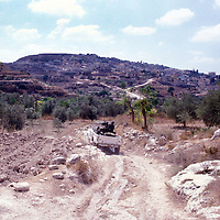 A UNIFIL Jeep on patrol in southern Lebanon in 1981.
