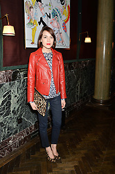 ELLA CATLIFF at the Installation And Reveal Of Gerald Scarfe's Exclusive Artworks In Scarfes Bar at Rosewood Hotel, 252 High Holborn, London on 7th April 2014.