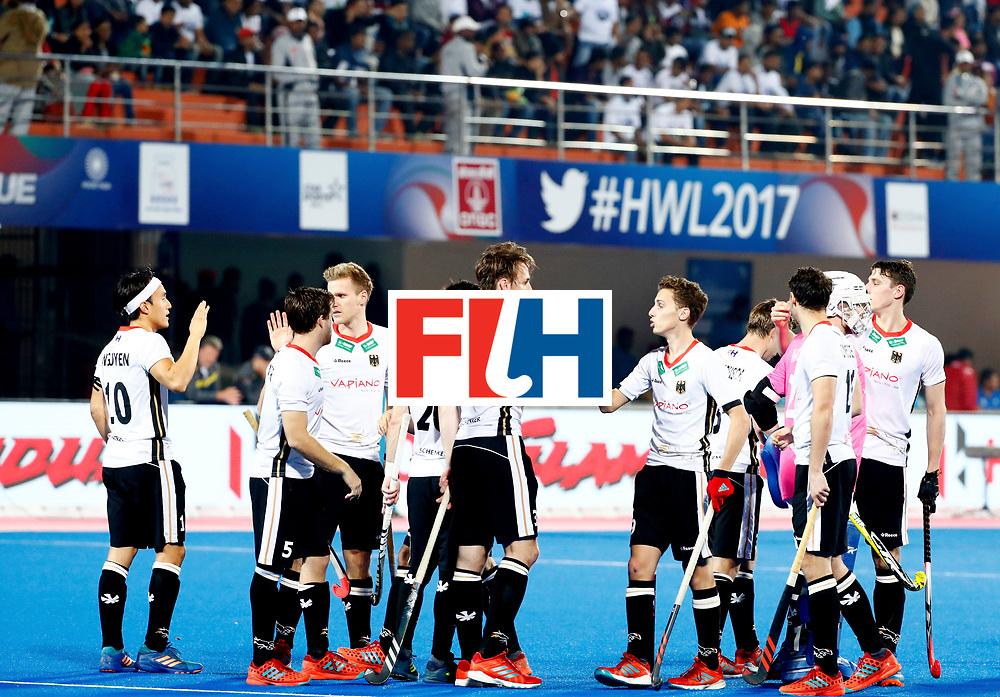 Odisha Men's Hockey World League Final Bhubaneswar 2017<br /> Match id: 20<br /> Australia v Germany<br /> Foto: Line Up<br /> COPYRIGHT WORLDSPORTPICS KOEN SUYK