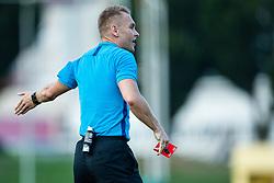 Alen Borosak head referee during football match between NK Triglav and NK Bravo in 8th Round of Prva liga Telekom Slovenije 2019/20, on August 30, 2019 in Sport park ZAK, Ljubljana, Slovenia. Photo by Grega Valancic / Sportida